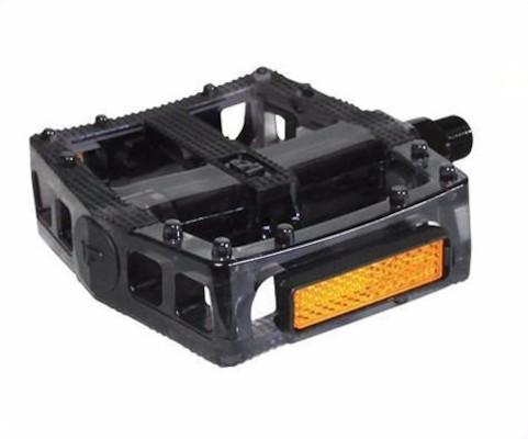 VP-577 Polycarbonate Flat Platform BMX Pedals / Clear