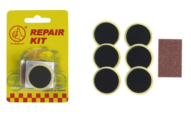 Barbieri Repair Pre-Glued 6 Patches Kit