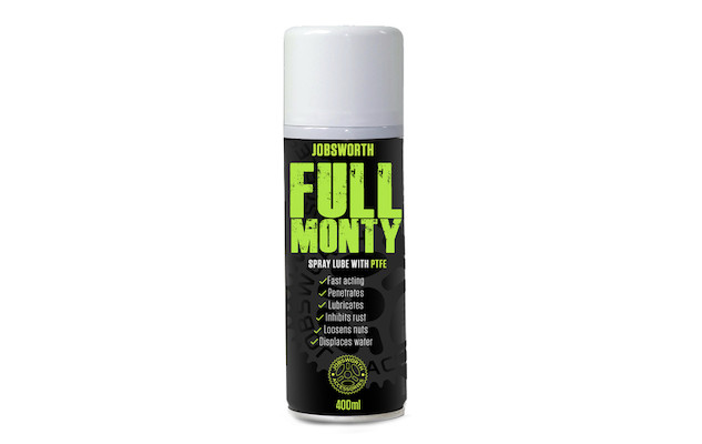 Jobsworth Full Monty Spray Lube + PTFE