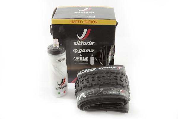 Vittoria MTB Goma Tyre 2 Pack With Free Camelbak Bottle