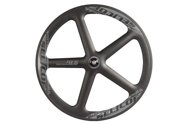 Selcof Ultra 0.5 Five Spoke Carbon Aero Track Front Wheel