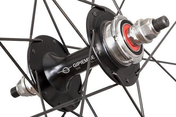Gipiemme 'Rocky's Hand-built' Pista K28 700c Tubular Wheelset