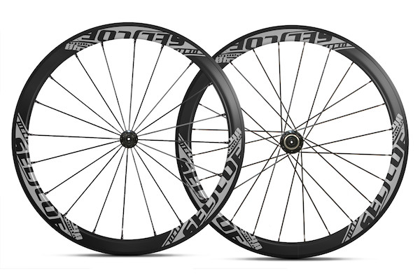 Selcof Delta 11spd 40mm Carbon Clincher Wheelset