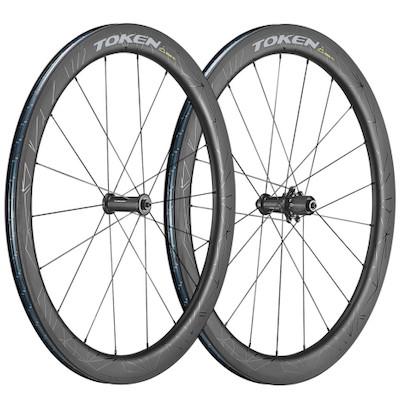 Token Zenith Konax Pro 52mm Carbon Road 700c Wheelset