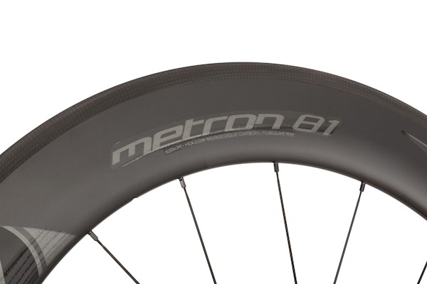 Vision Metron 81 Carbon Clincher Road Wheelset / Grey Decal / Shimano/SRAM 10/11sp