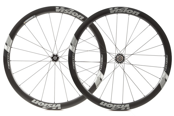 Vision Metron 40 Disc Carbon Clincher 6 Bolt Wheelset