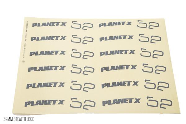Planet X Wheelset Decals