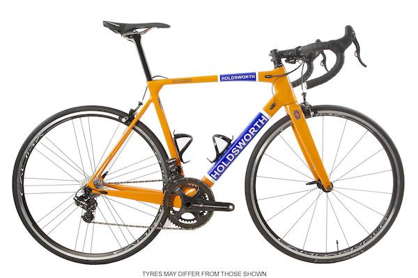 Holdsworth Super Professional Super Record EPS Road Bike / Medium 54cm / Team Orange / Calima Ex Team