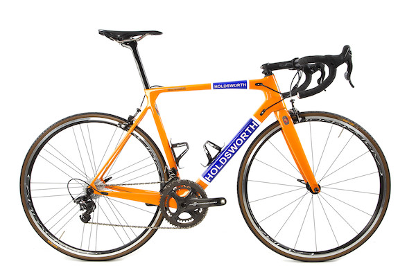 Holdsworth Super Professional Chorus-Super Record  Road Bike / 54cm / Orange - Used