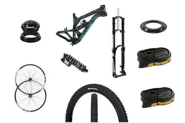 On-One S36 27.5 Downhill Bike Upgrade Bundle