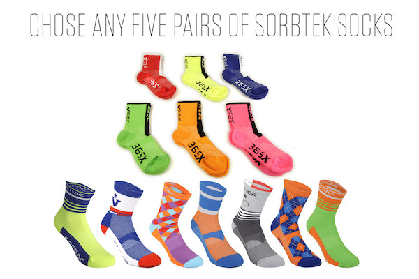 Sorbtek Socks Pick And Mix 5 For A Tenner Bundle