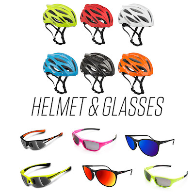 Summer Helmet And Sunglasses Bundle