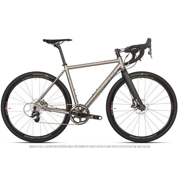 Planet X Tempest V3 Titanium Gravel Road Bike Sram Force 1 HRD 650B Wheel
