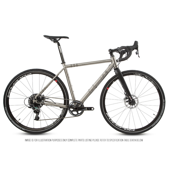 Planet X Tempest V3 Titanium Gravel Road Bike Sram Force 1 HRD 700C Wheel