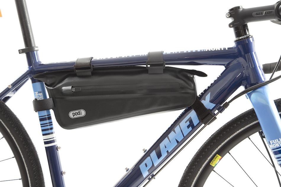 969caaaf97c PODSACS Ultra Lite Waterproof Frame Bag   Black ...