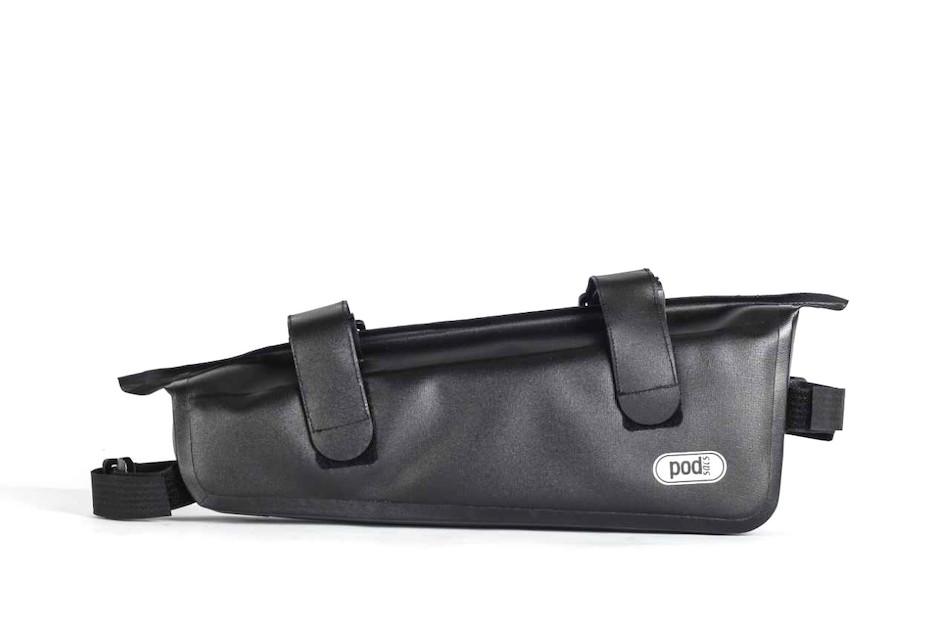 d60f218cff7 ... PODSACS Ultra Lite Waterproof Frame Bag   Black ...