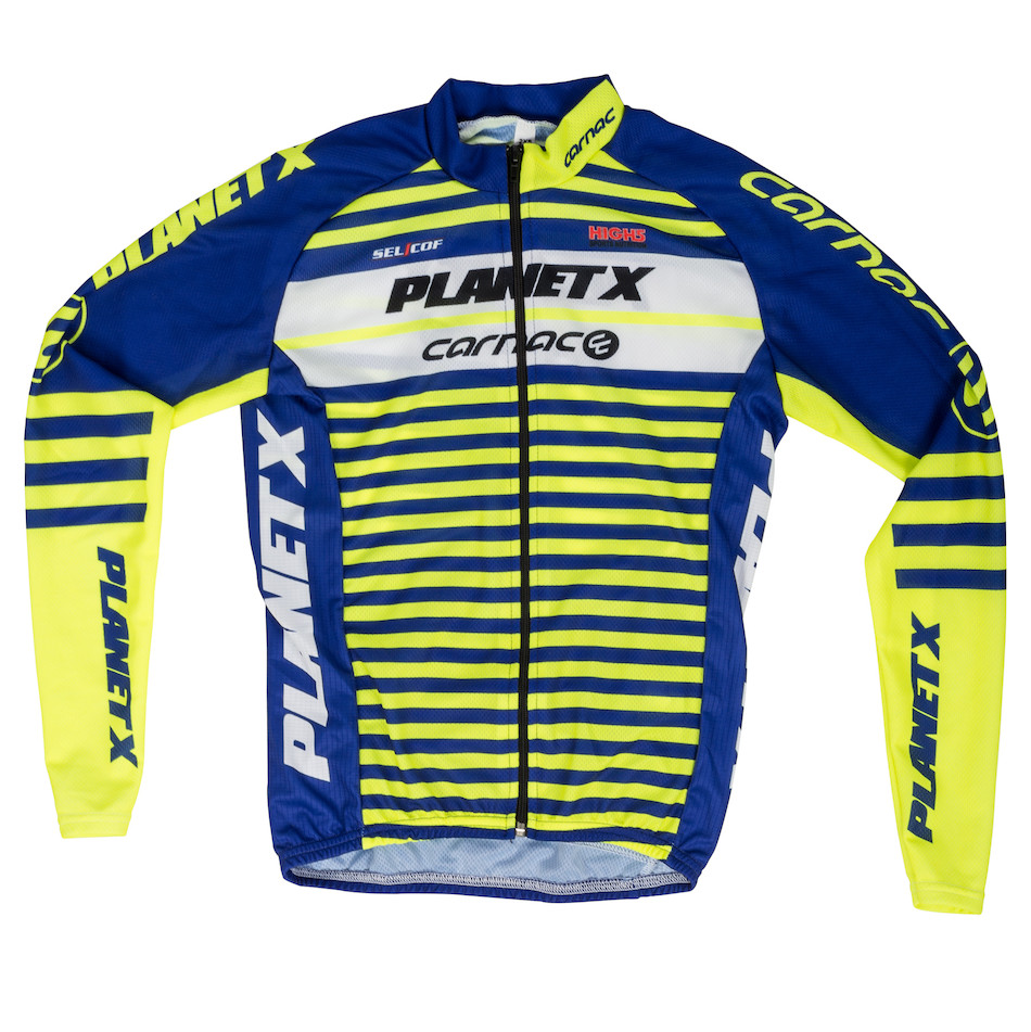 c5a734f448ff Planet X Team Carnac Childrens Long Sleeved Jersey ...