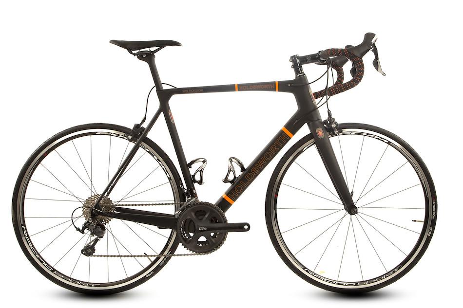 Holdsworth Super Professional Shimano 105 5800 Road Bike 56cm Black And  Orange  5a40f7031