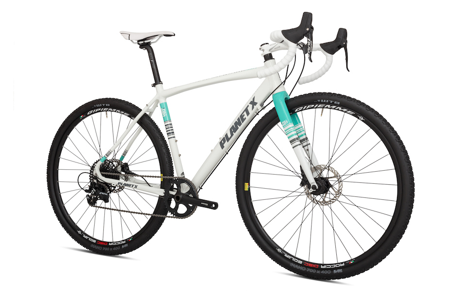 Planet X Full Monty SRAM Apex 1 Hydraulic Disc Gravel Bike
