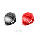 Phaart Strap On LED Light / Black / Red LED