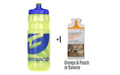Carnac Water Bottle With Energy Gel