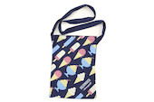 Holdsworth Blue Ice Cream Edition Travel Canvas Tote Bag