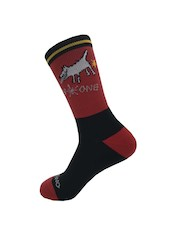 On-One Mom Dog High Top Cycling Socks