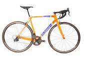 Holdsworth Super Professional Chorus Road Bike / 54cm Medium / Team Orange / Zonda Wheelset - Ex Team New Frame