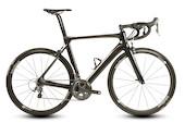 Planet X EC Direct Mount Brake Sample Bike / 160HT / 55TT / 53ST / Gloss Black / Shimano Ultegra 6800 / Vision 35 Wheel