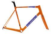 Holdsworth Super Professional Carbon Road Fork / Black And Orange / 43' (M/L/XL) (Used)