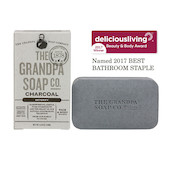 The Grandpa Soap Co Charcoal Soap Bar