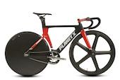 Planet X Koichi San Elite Aero Carbon Track Bike Small Black And Red USED