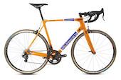 Holdsworth Super Professional Super Record EPS Road Bike / Large 56cm / Team Orange - EX Team