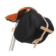 Banjo Brothers Minnehaha Canvas Saddle Bag
