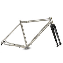 Planet X Tempest Titanium Gravel Frame And Selcof Carbon Fork Bundle.