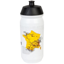 Tour De France 2016 Water Bottle - 600ml - White/black