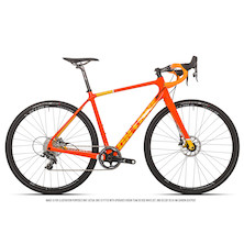 On One Bish Bash Bosh SRAM Force 1 HRD Adventure Bike / Large / Seville Orange