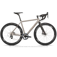 Planet X Tempest Titanium Gravel Road Bike Sram Force 1 HRD Vision Metron 40 700C Wheel