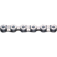 "Jobsworth YBN S8, 8 Speed, 1/2"" X 3/32"" Chrome Plated Chain"