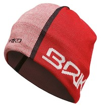 Briko WO MC Logos Beanie Red And Grey