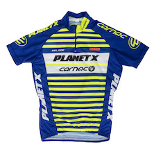 Planet X Team Carnac Childrens Short Sleeved Jersey