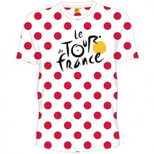 Tour De France Pois Rouge T Shirt