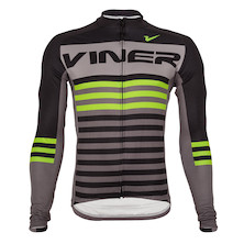 Viner Atomic Stripe Long Sleeve Jersey