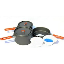 Fire-Maple Feast-3 Hard Anodised Aluminium Cookset