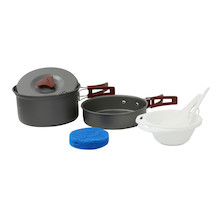 Fire-Maple FMC-203 1-2 Person Lightweight Aluminium Cookware Set