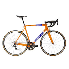 Holdsworth Super Professional Chorus Road Bike / 56cm Large  / Team Orange / Calima Wheelset / Ex Team New Frame
