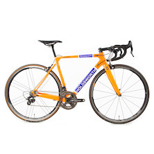 Holdsworth Super Professional Chorus Road Bike / 52cm Small / Team Orange / Zonda Wheelset - EX TEAM