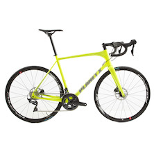 Planet X Portia Sample Disc Brake Road Bike / Large / Gloss Yellow / Shimano Ultegra R8000
