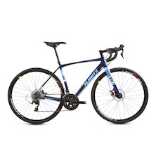 Planet X Full Monty / Medium / Midnight Blue / Shimano 105 5800 Mechanical Disc