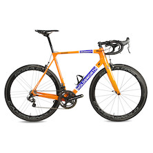 Holdsworth Super Professional / Large / Team Orange / Campag Super Record EPS / Bora 1 Tubs
